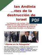 Plan Andinia Antes de La Destrucción de Israel