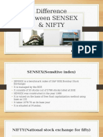 Difference Between SENSEX & NIFTY