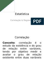 Estatística - Correlação