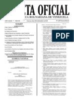 Ley de Calidad de Las Aguas y Del Aire 2015 GO-E 6207