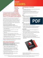 Snapdragon 800 Processor Product Brief