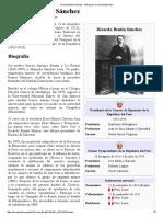 Ricardo Bentín Sánchez - Wikipedia, La Enciclopedia Libre
