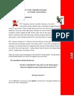 Kfc Term Paper