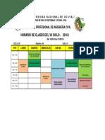 Horario Civil 2016-i