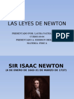 Leyes de Newton para niño