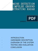 Landmine Detection Using Impluse Ground Penetrating Radar-PPT-Sharath