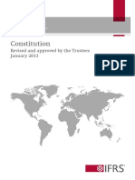 IFRS (2013) IFRS Foundation Constitution