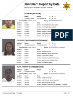 Peoria County Jail booking sheet 05/22/2016