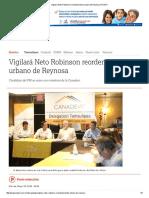 05-20-2016 Vigilará Neto Robinson Reordenamiento Urbano de Reynosa