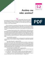 Telecurso 2000 - Ensino Fund - Português - Vol 03 - Aula 52