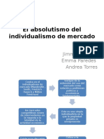 El Absolutismo Del Individualismo de Mercado