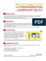 Programmation Ladder Tsx37
