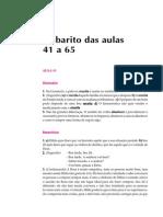 Telecurso 2000 - Ensino Fund - Português - Vol 03 - Gabarito