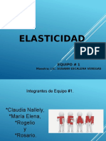 - Presentacion de Elasticidad