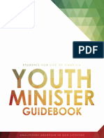 Youth Minister Guidebook 2015