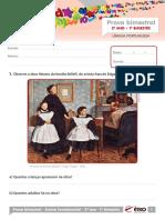 2013 2o Ano Prova Bimestral 1 Caderno 1 Lingua Portuguesa