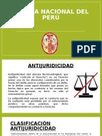 Policía Nacional Del Perú- Antijuridicidad