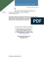 Greek debt sustainability analysis - 23/5/2016