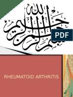 Rheumatoid Arthritis Rheuma Presentation