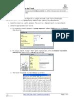 Aspen Export Data From Aspen to Excel QRC