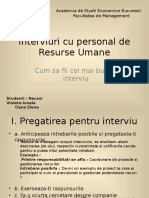 Interviuri Cu Responsabili de Reusrse Umane