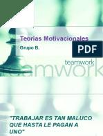 Teorias Motivacionales - Administración