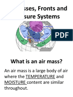 air masses fronts and pressure system presentation