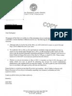 Christopher Burnett Termination Letter