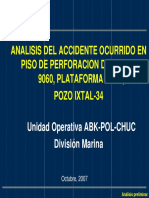 Accidente Con H2s en Plataforma Rig 3