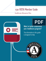 AmeriCorps Healthcare Allowance Guide