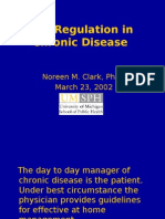Self-Regulation of Chronic Disease