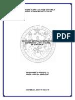 Instituciones Que Manejan Discapacidad en Guatemala (1)