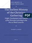 Alikin - 2010 - The Earliest History of the Christian Gathering ... 1st-3rd C - Study - Eng