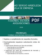 Fusiones 2016 2o. Examen