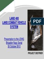 Land 400 - Oct 12 Presentation