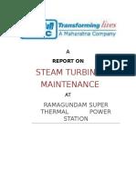 Steam Turbine Maintenance