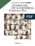 Tratado de Semiotica General