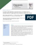 Postura y Ortodoncia, Revision