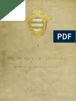 Memoires of Barras