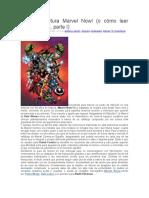 Guía de Lectura Marvel Now