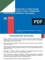 Presentación Constitución Simplificada de Empresas