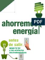 Trabajo Sobre El Ahorro de Energia
