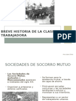 Historia Clase Trabajadora en Chile