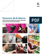Scanners at a Glance Brochure English