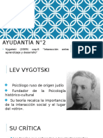 Ayudantía II L. Vigotsky (PPT 1 de 2)