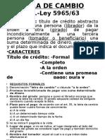 Letra de Cambio-filminas
