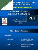Análisis Sísmico Estatico y Dinamico