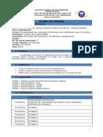 PLANO de ENSINO - Tendencias e Perspectivas Na Formação de Professores - Turma 2015