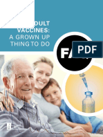 FAQ Adult Vaccination