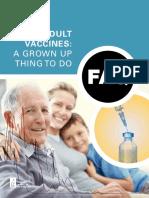 FAQ Adult Vaccination